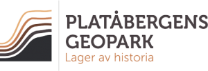 Platåbergens Geopark Logotyp