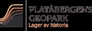 Platåbergens Geopark Logotyp Retina