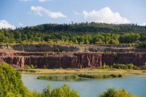 Stora stenbrottet på Kinnekulle