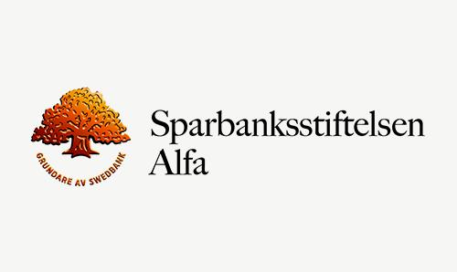 Logotyp Sparbanksstiftelsen Alfa