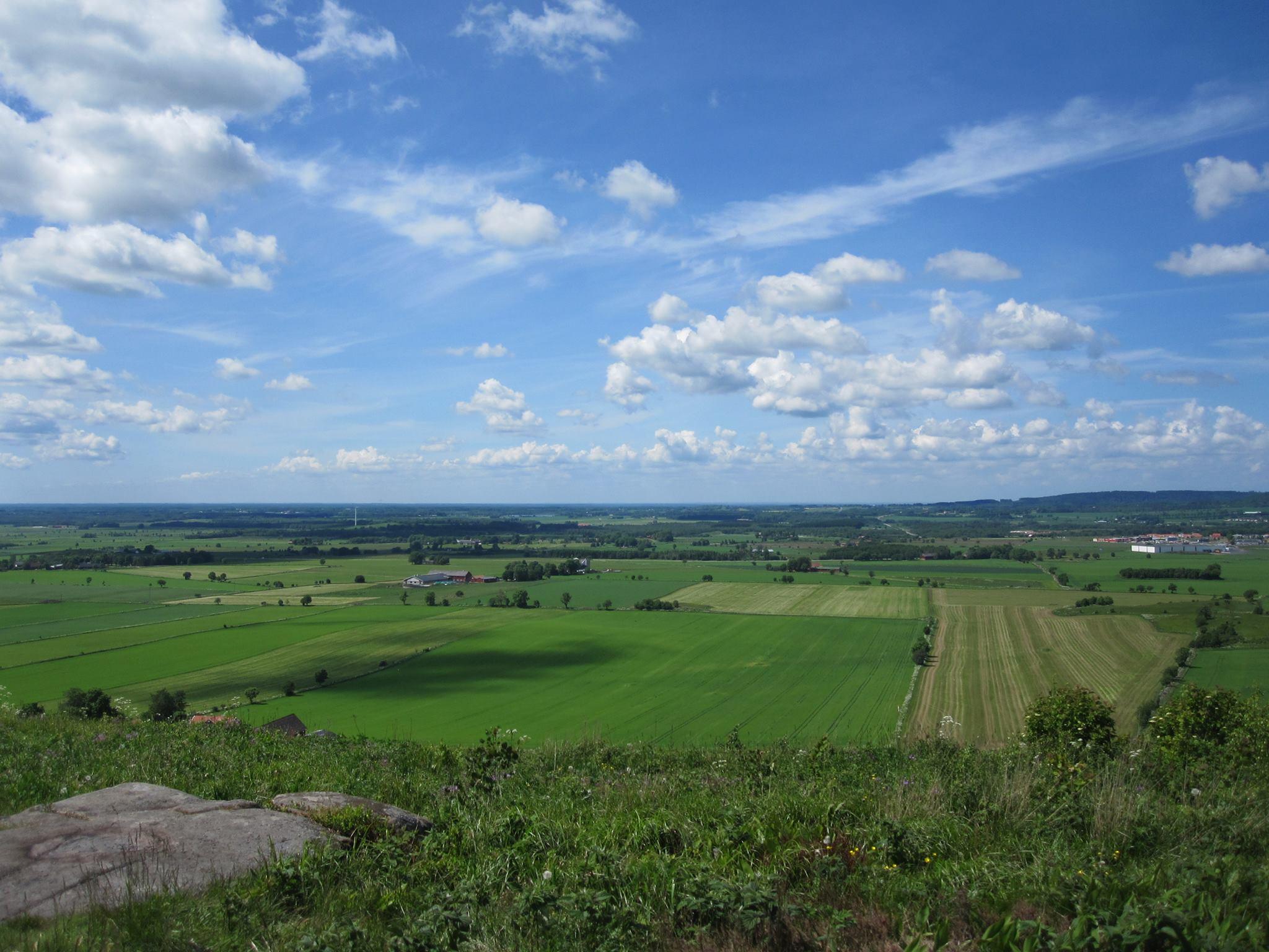 Ålleberg – vyer från geoparkens högsta topp