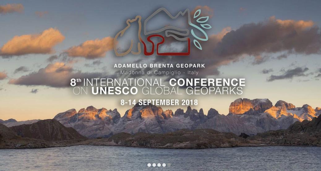 Med tåg mot geoparkskonferens i Italien