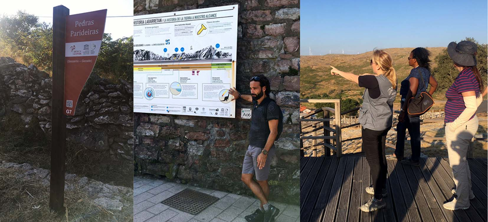 Studiebesök i två europeiska Unesco Global Geoparker