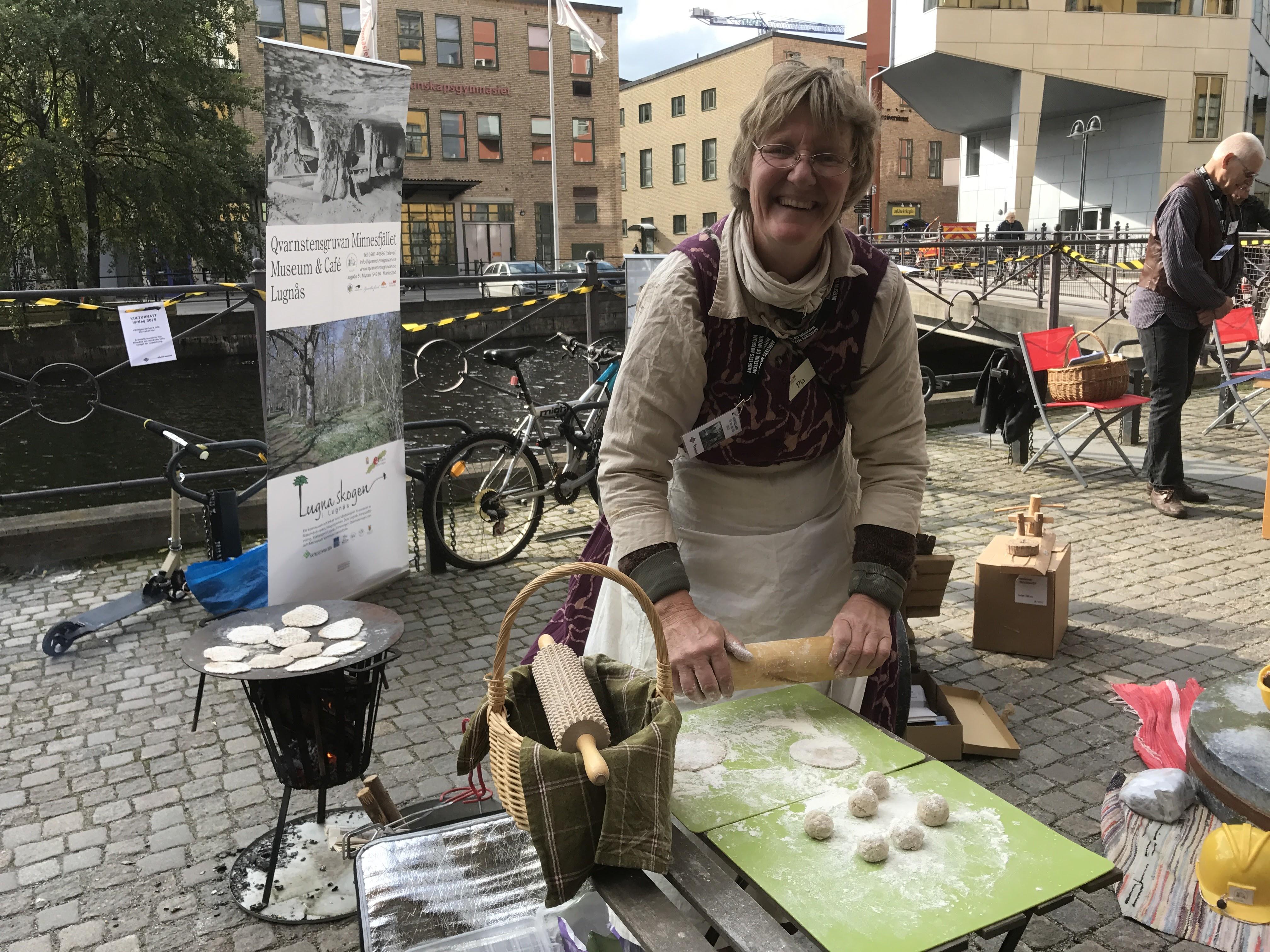 Hallå där Pia Åkesson, ordförande för Qvarnstensgruvan Minnesfjället i Lugnås!