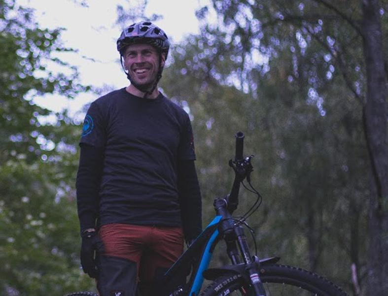 Hallå där Fredrik Svensson, som driver aktivitetsföretaget Äventyr & Trail!