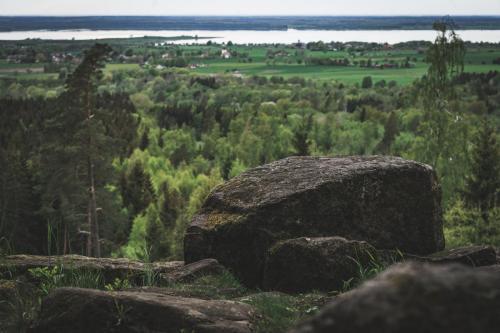 Utsikt från Nycklafallet